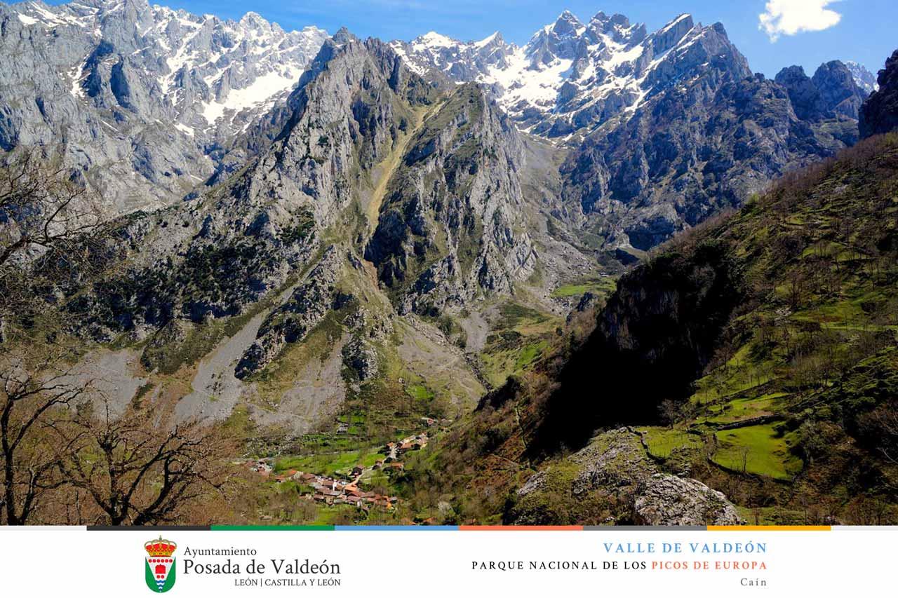 Pueblo de Caín, Valle de Valeón