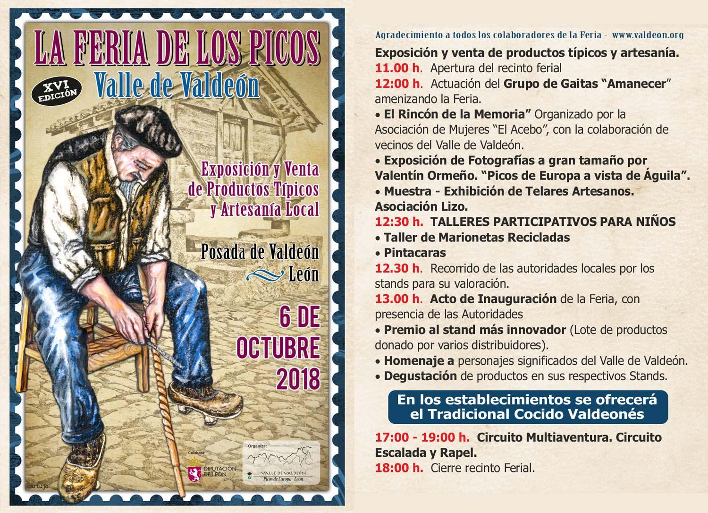 Cartel y programa XVI Edición Feria de los Picos