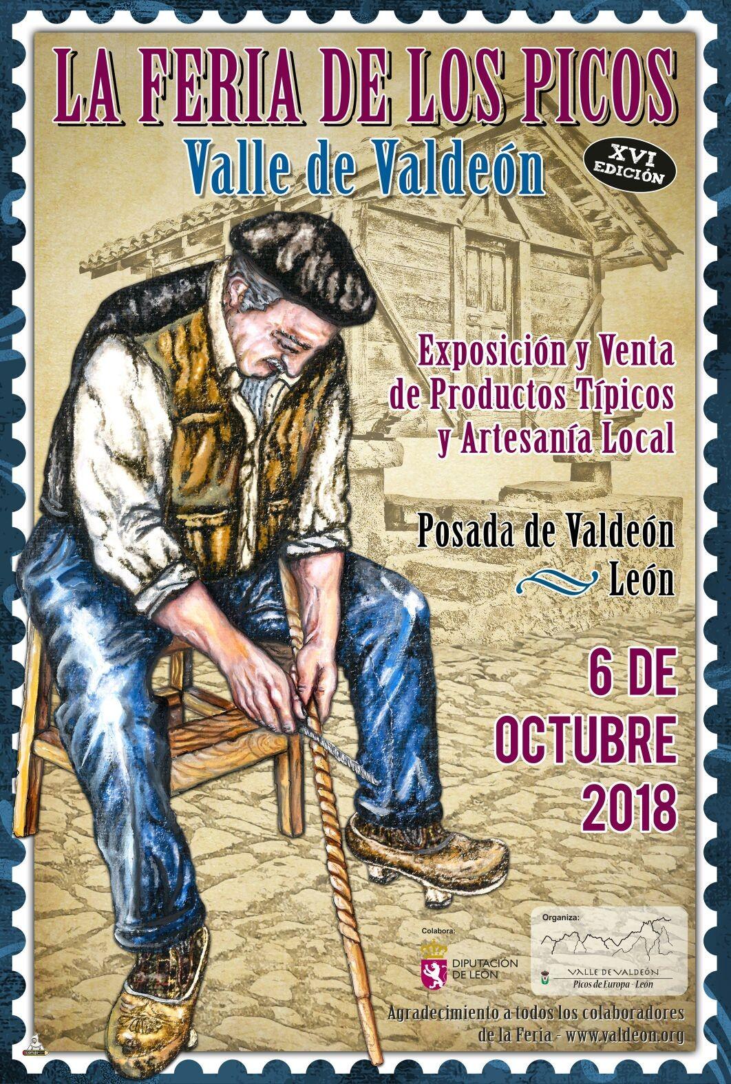Cartel XVI Edicion Feria de los Picos